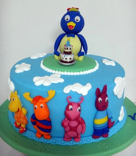 Backyardigans Cake...cute!
