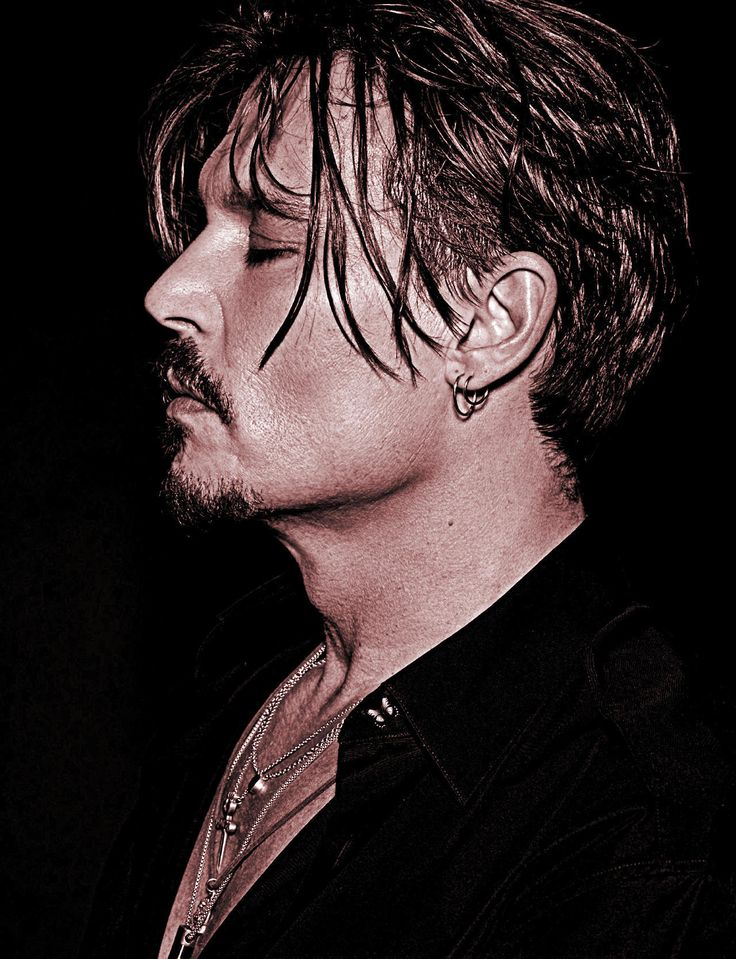 JCD II : Johnny Depp - edit © 2017 Photoshoot Numéro Homme