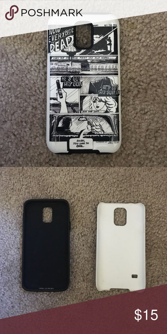 Galaxy S5 Phone Case - The 1975 Two parts; inside is rubber, outside is hard plastic. Accessories Phone Cases