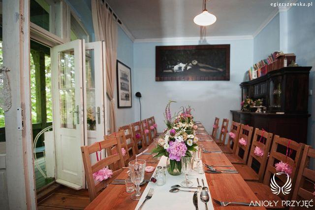 Cherry Wedding,Rustic wedding,Centerpieces / Czereśniowe wesele,Rustykalne wesele,Dekoracje stołu,Anioły Przyjęć
