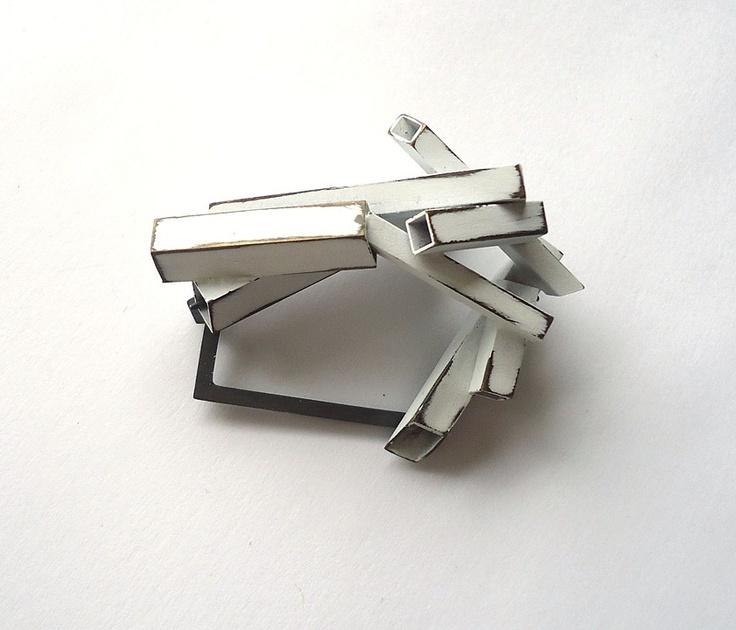 Contemporary Brooch | Lauren Markley Contemporary Jewelry