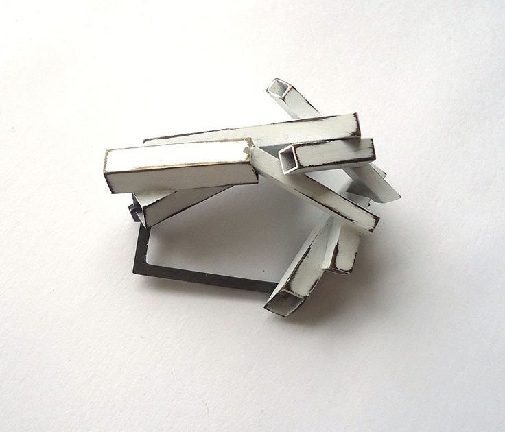 Contemporary Brooch | Lauren Markley Contemporary Jewelry