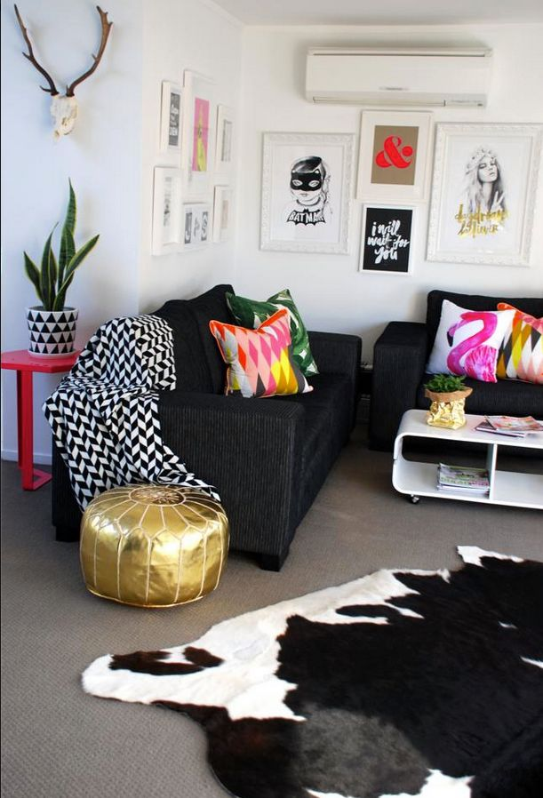 225 best maroccan poufs images on pinterest home ideas for Funky living room designs