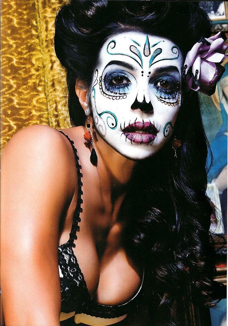 ♥ Urban Ink VIDA GUERRA 1 Dia de los Muertos. Day of the Dead ♥