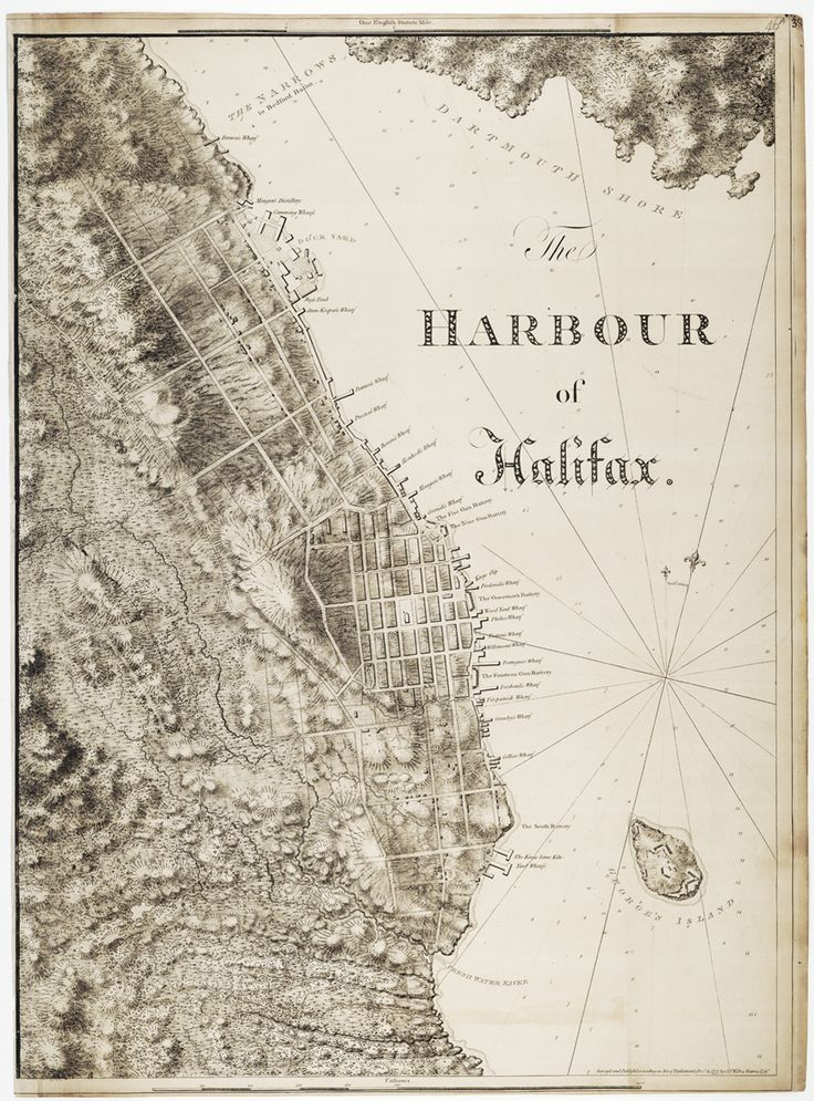 The harbour of Halifax ca 1777 540