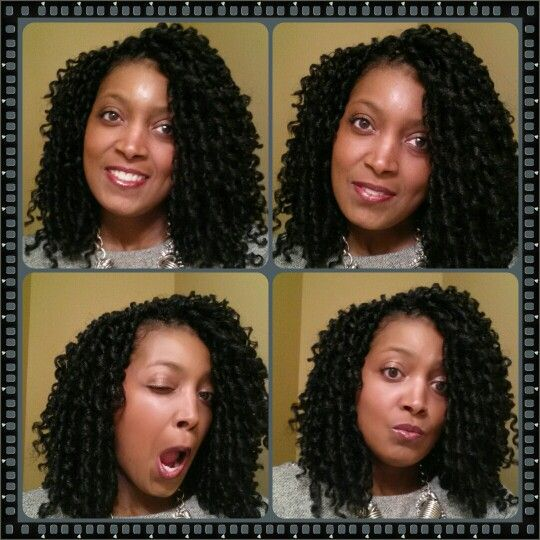 ... hair styles on Pinterest Protective styles, Twists and Marley hair
