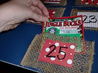 A Spare Time Creative: Adult Advent Calendar LOTTO SCRATCH TIX