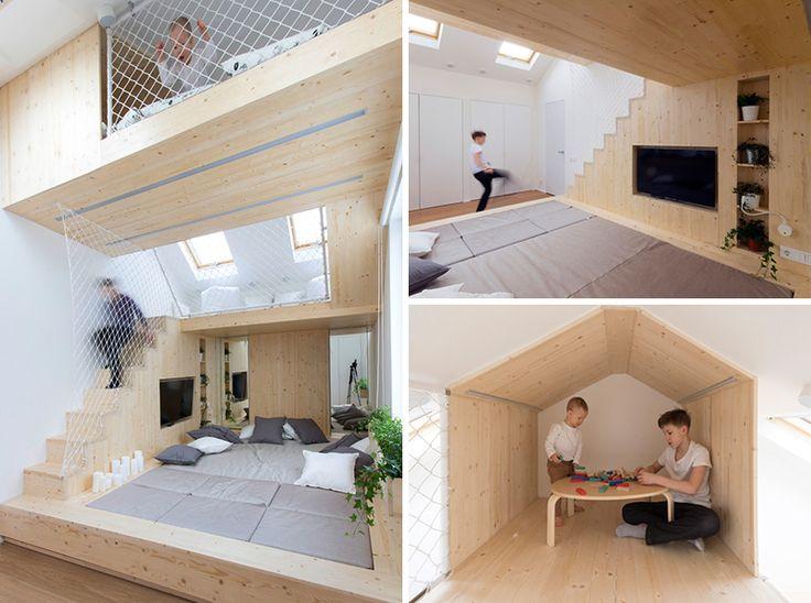 16 besten KaminOfen Bilder auf Pinterest Kaminofen, Kamine und - schlafzimmer mit spielbereich eltern kinder interieur idee ruetemple