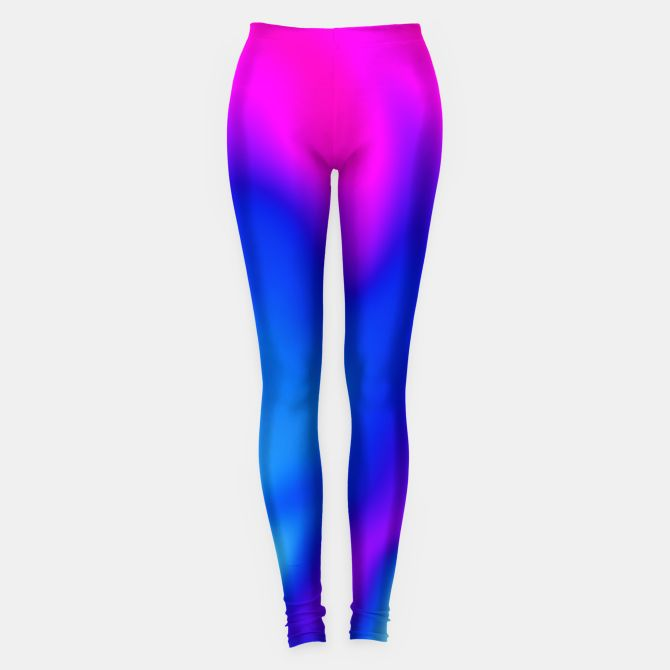 Blue Pink Blur Leggings, Live Heroes @liveheroes by @photography_art_decor. All product: https://liveheroes.com/en/brand/oksana-fineart #fashion #clothing #online #shop #liquid #psychedelic #abstract #blue #pattern #pink #wave #abstract #trendy #stylish #fashionable #modern #awesome #amazing #paint #clothes #neon #magenta