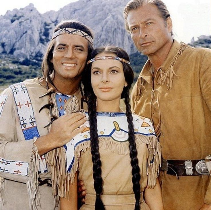 winnetou ribanna and old shatterhand karl may pinterest classic western movies and the o. Black Bedroom Furniture Sets. Home Design Ideas
