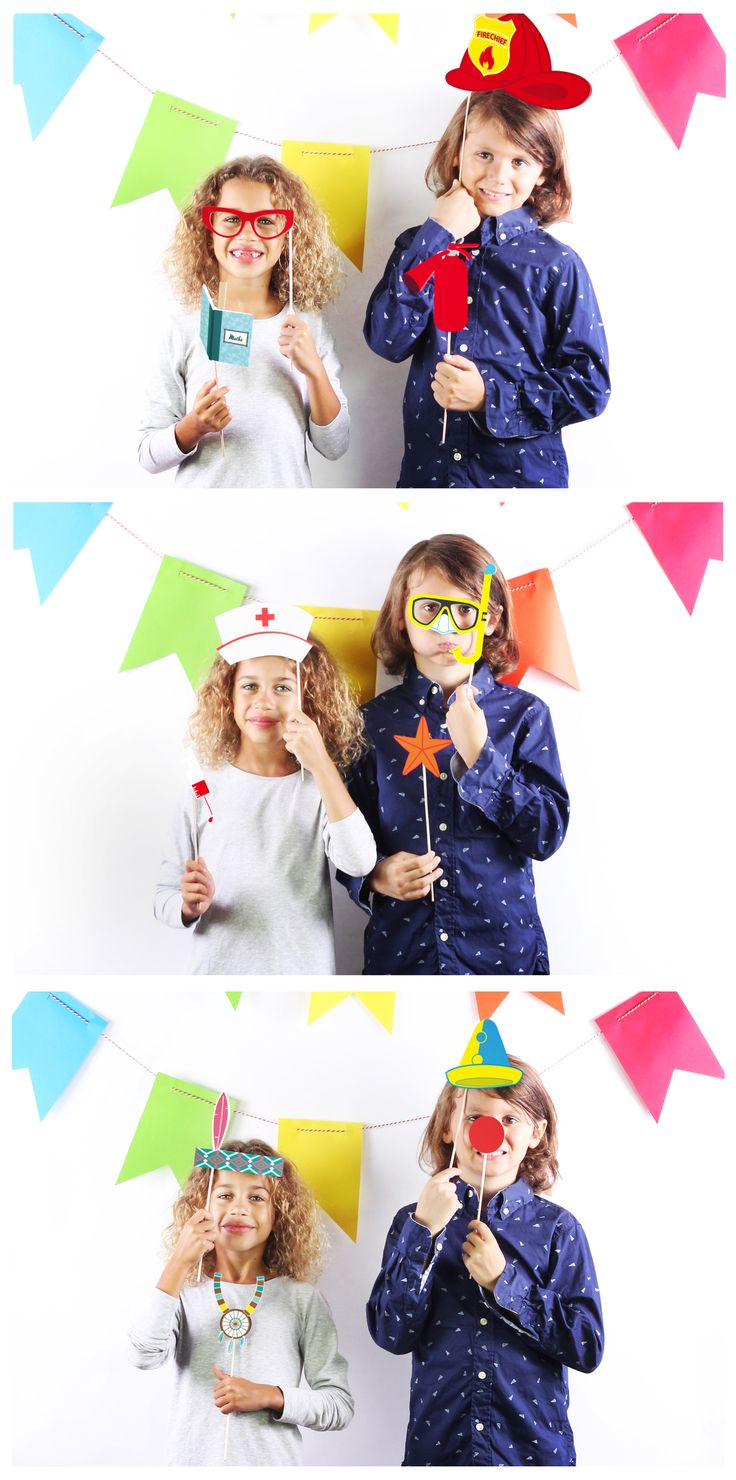 PHOTOBOOTH KIDS ·  http://doiydesign.com/en/products/135-photo.html  #photobooth #kids #party #happy www.geminioctopus.com