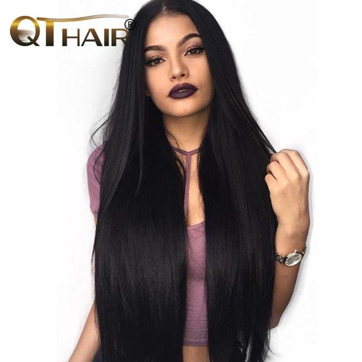 Brazilian Straight Hair Weave Bundles 100% Human Hair Bundles Hair Extensions Can Buy 3 Or More Bundles QThair Non-Remy Hair