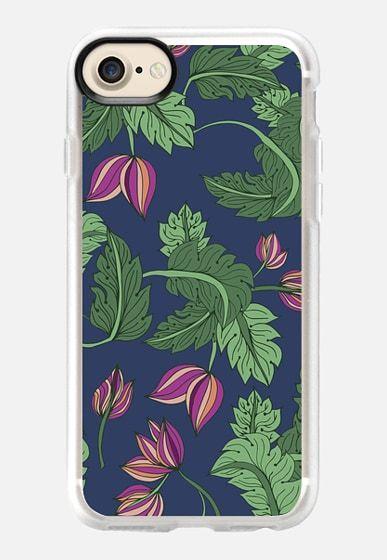 Foliage I pattern design by Patricia Sodré for Casetify.  #foliage #tropicalpattern #tropical #pattern #casetify #iphonecase #patriciasodre