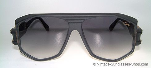 Cazal Sunglasses Vintage 80's Frames  Run-DMC Wore These - Single Pair Available 163 - Dull black