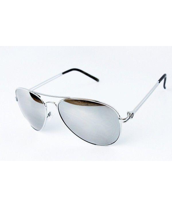 ca4313445 Men's Sunglasses, Aviator,T011-pc Triple Crown Metal Aviator Pilot  Sunglasses Men - Silver-mirrored W Case - CU11KHAOPMN #Aviator #Men's # Sunglasses # # ...