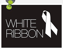 Are you showing your support for White Ribbon Day?
