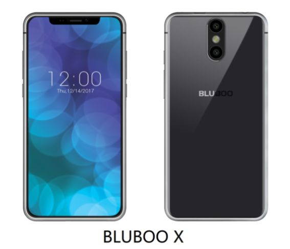 BLUBOO X Is An iPhone X Clone, It Will Sport An OLED Display #Android #Google #news