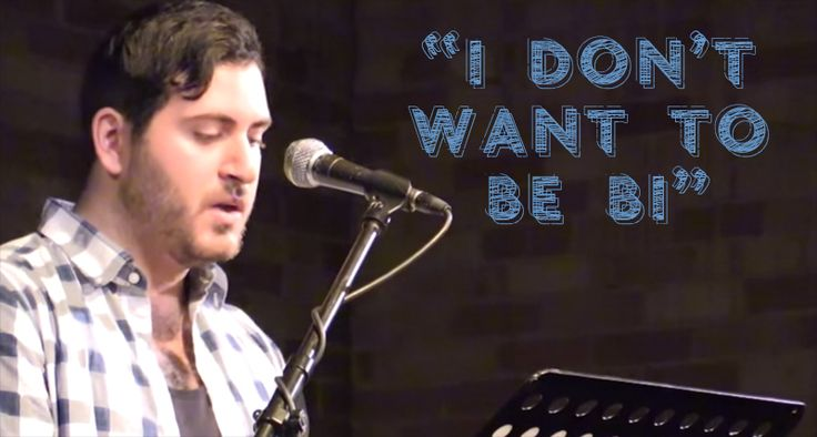 """""""I Don't Want To Be Bi"""" as part of Too Queer: A Bi Visibility Cabaret 