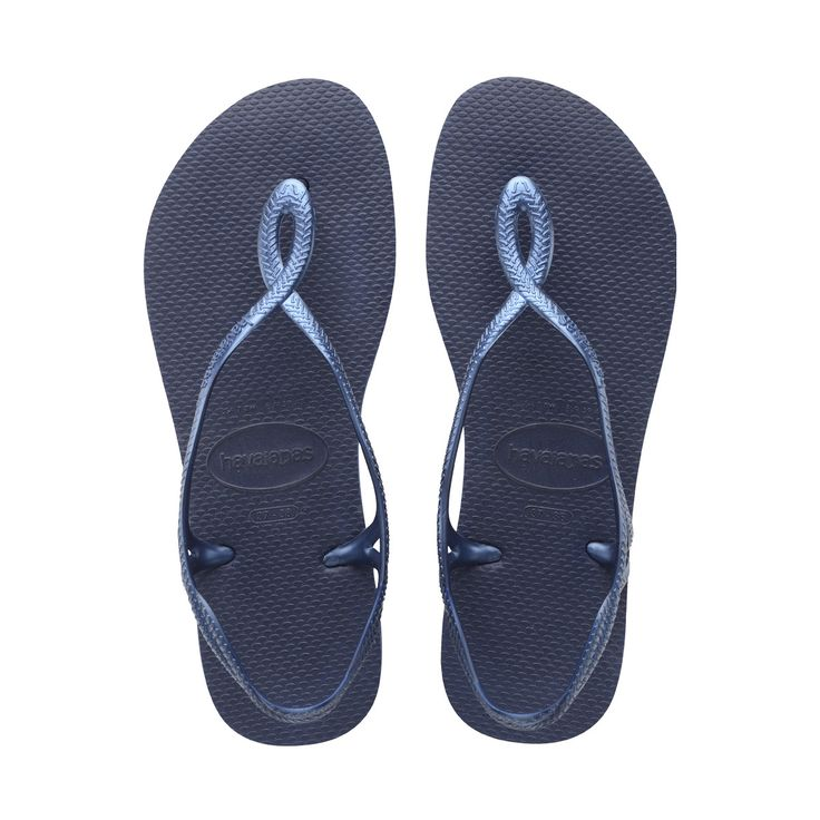 39/40 - Navy Blue - Women's Luna Navy Blue - Sandals for Women -
