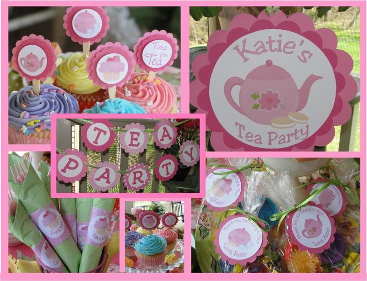 Tea Party Birthday Ideas