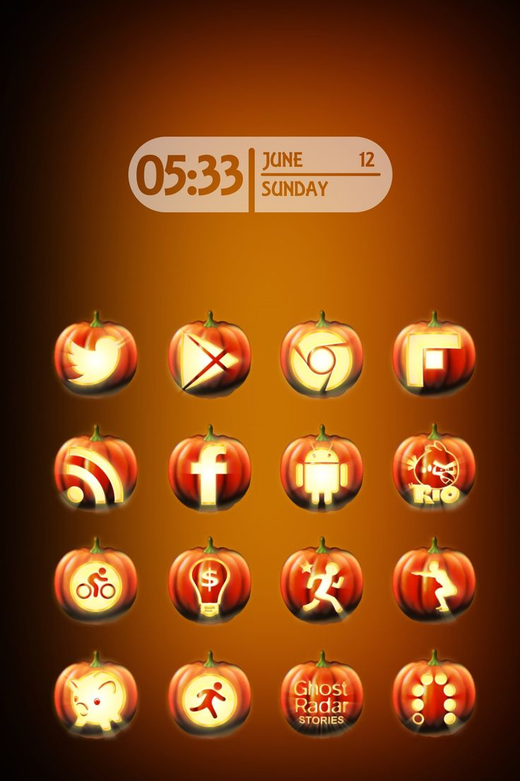 Google themes halloween