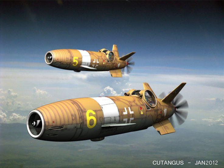 Aviones Fantasticos Nazis