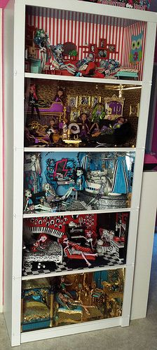 mein mega riesen Monster High Haus :D | Flickr - Photo Sharing!