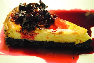 cheesecake with chilli