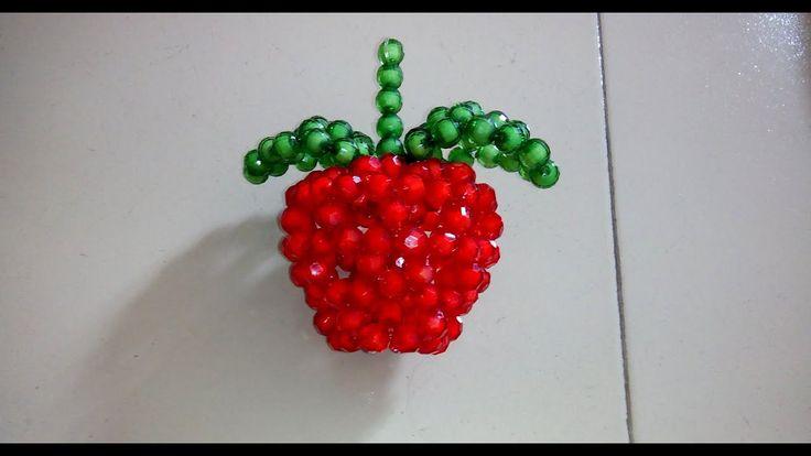 beaded apple tutorial