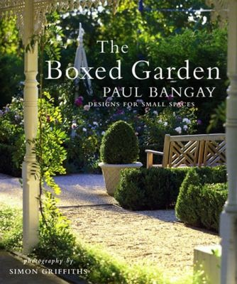 Unlimited pleasure, limited space: the imaginative small garden. Renownedlandscape designer Paul Bangay revels in the possibilities of small gardens. In The Boxed Garden he offers illuminating ways to transcend their limitations: a change of level to add excitement, a decorative feature properly placed to create a vista, a paving pattern to lengthen the perspective, a layered planting to lend depth and richness to a setting.