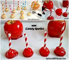 Mini Candy Apples!