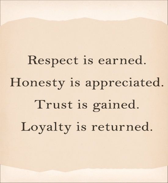 trust, respect and confidence - Google Search