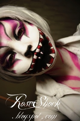 Interesting Makeup artist... Not quite my thing, but I like the Halloween and theatre inspirations.