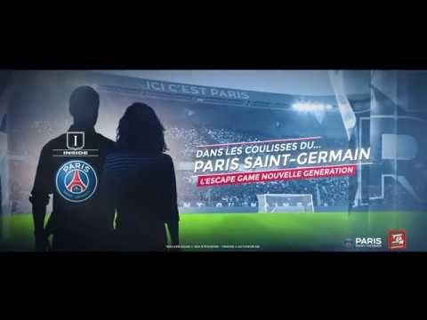 Un escape game PSG débarque au Parc des Princes - GOLEM13.FR : GOLEM13.FR