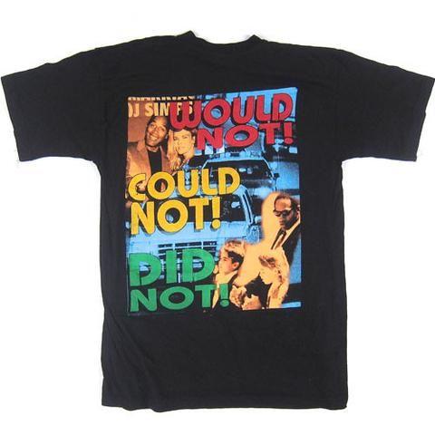 Vintage OJ Simpson Would Not T-Shirt
