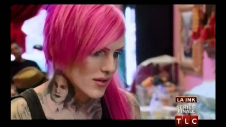 Jeffree Star on LA Ink - 9/15/11 Diva Foot Tattoo!