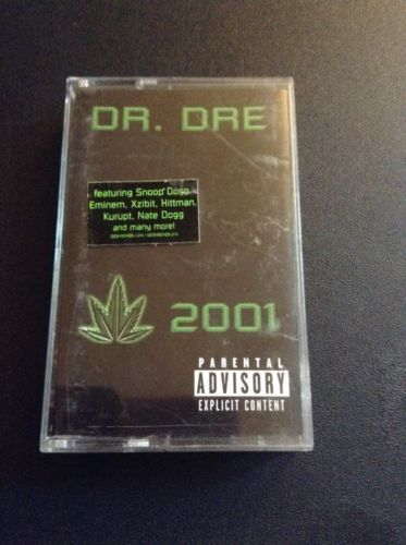 Dr. Dre 2001 Audio Cassette Tape West Coast Gansta Rap G Sound Snoop Dogg