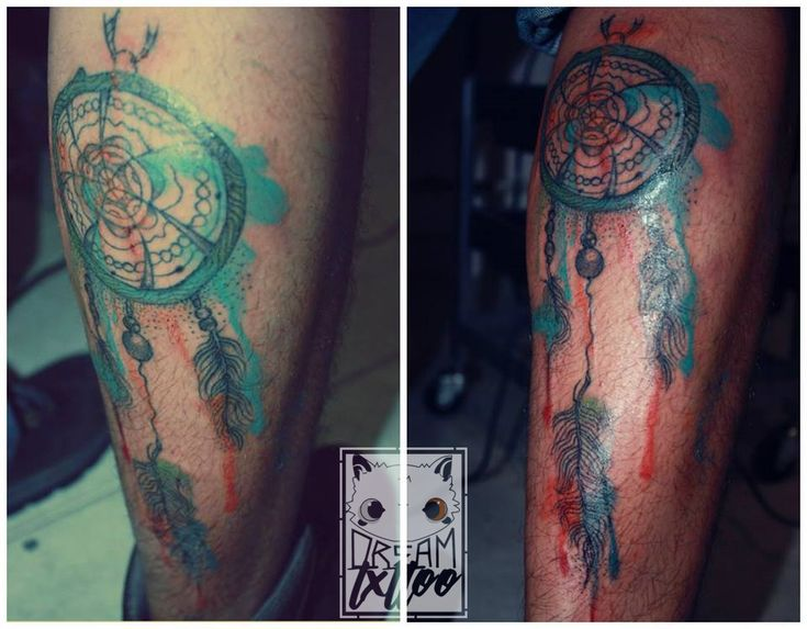 ~Tattoo of a dream catcher in watercolor, made behind the calf~ (Tatuaje de un atrapa sueños en acuarela, hecho detrás de la pantorrilla)  #love #photooftheday #beautiful #happy #picoftheday #followme #art #repost #style #smile #likeforlike #tattoo #nature #inked #inkaholic #bogotaink #tatuajes #dreamtxttoo #tatts #tatts #tattoo #tattoolifestyle #tattoolove #tattoostagram #tattoowork #tattooink #tattooartist #tattooer #tattootime #intenzeink