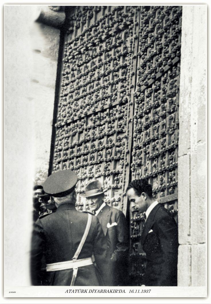 Atatürk Diyarbakır'da 16.11.1937