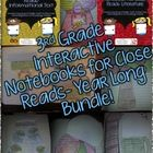 Made for 3rd grade, this Interactive Notebook has interactive organizers for Close Reads of literature and informational text. A great tool to implementing Close Reads and Interactive Notebooks for the year. $