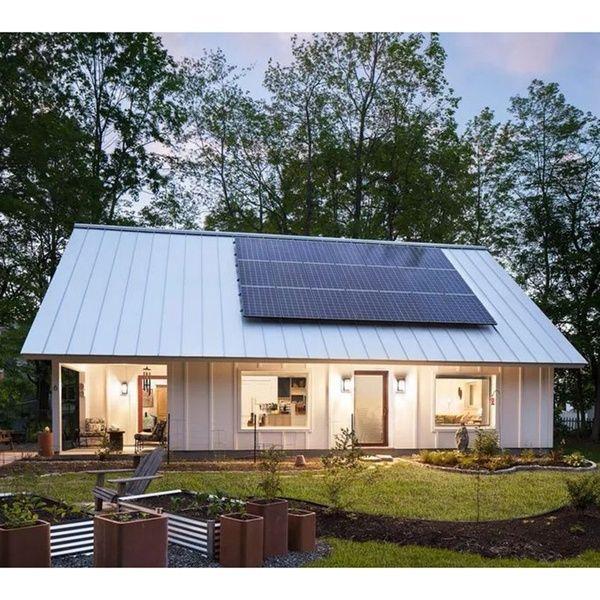 Compra Easy Assemble Cheap Residential Prefabricated Prefab Houses With Solar Panels En Wish Comprar Es In 2020 Prefabricated Houses Modern Prefab Homes Prefab Homes