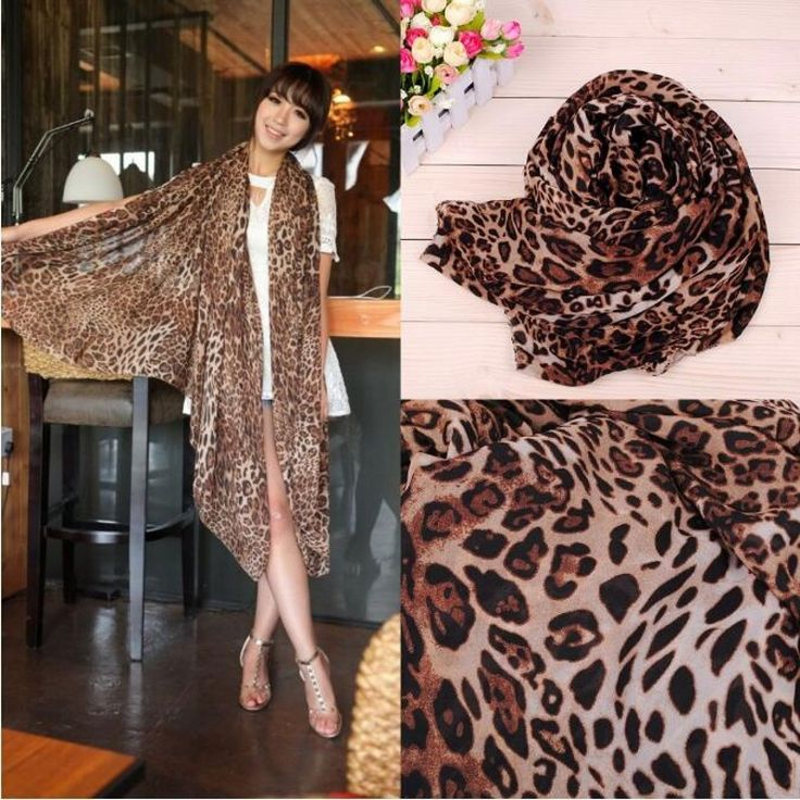 Chiffon Women Brown Print Leopard Scarves 2017 Foulard Femme Musulman Hijab Sciarpe Donna Cachecol Inverno Shawl Qurban -- AliExpress Affiliate's Pin.  Click the VISIT button for detailed description on AliExpress website
