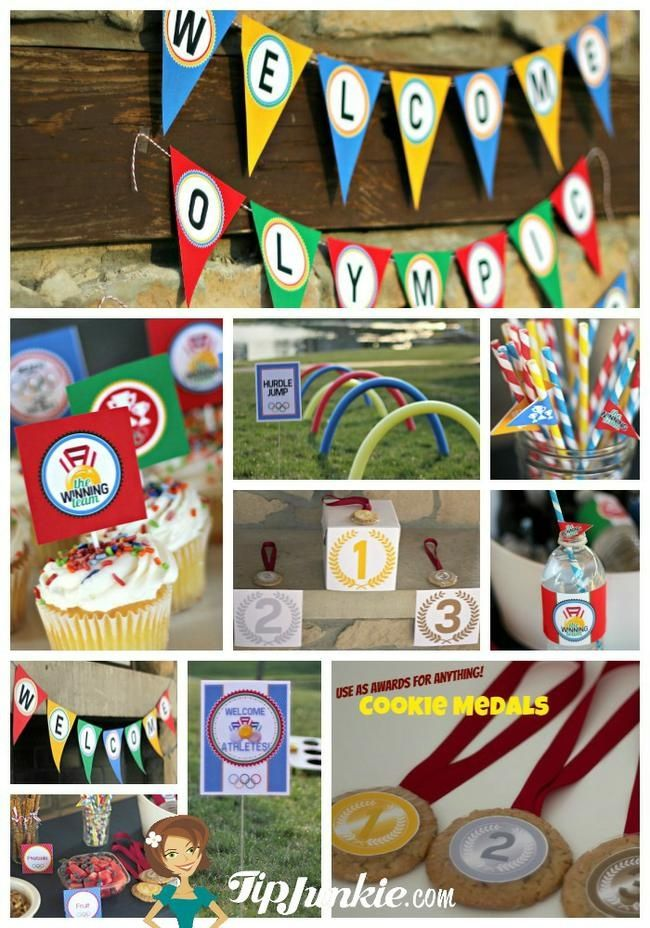 11 Free Olympic Event Signs to Print  {Olympic Games}