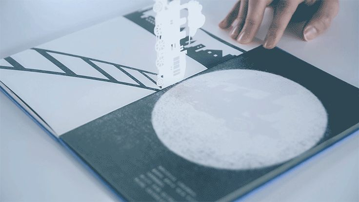 Motion Silhouette: An Interactive Shadow Picture Book