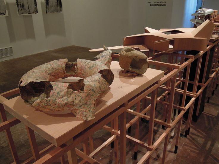 """Exposición """"Ilustraciones"""" de Smiljan Radic + Alejandro Lüer"""