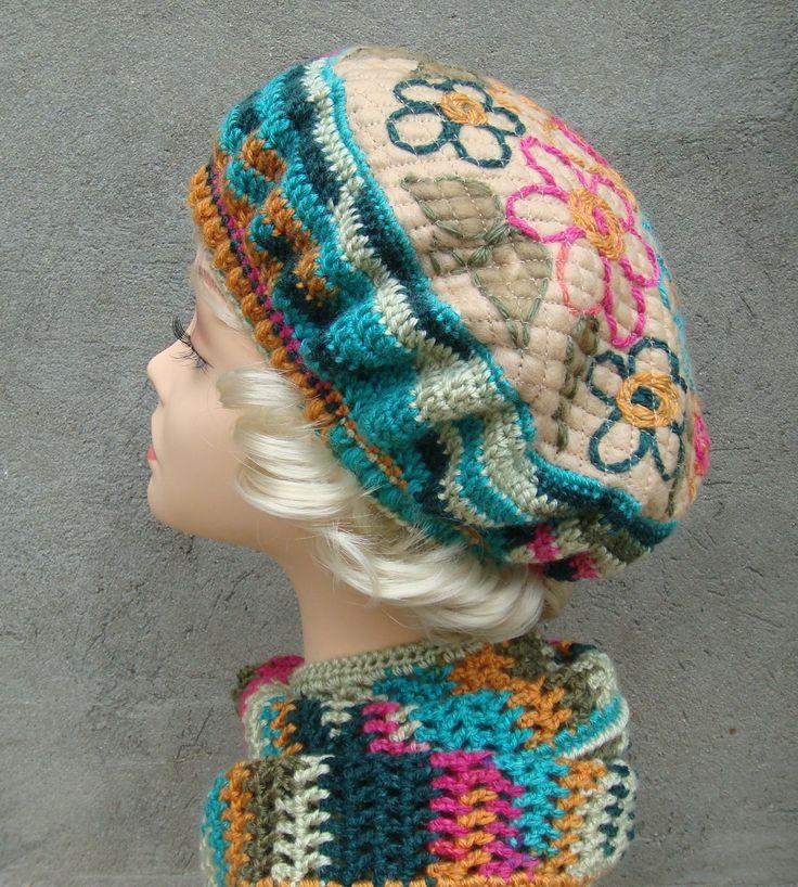 Берет. Крейзи вул.  Crazy wool. Автор Марина Феддер.