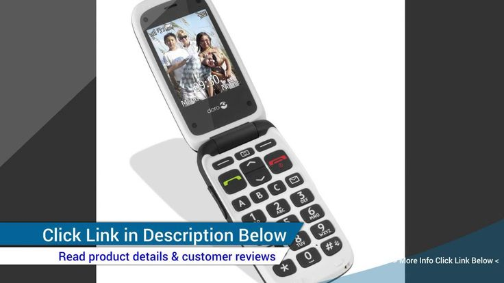 Best Review of Doro Phone Easy 612 GSM Sim Free Mobile Phone Black ...