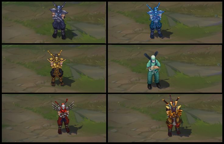 Shen Texture Update on classic and his skins #PBE #LeagueOfLegnds #LoLNews #LoL