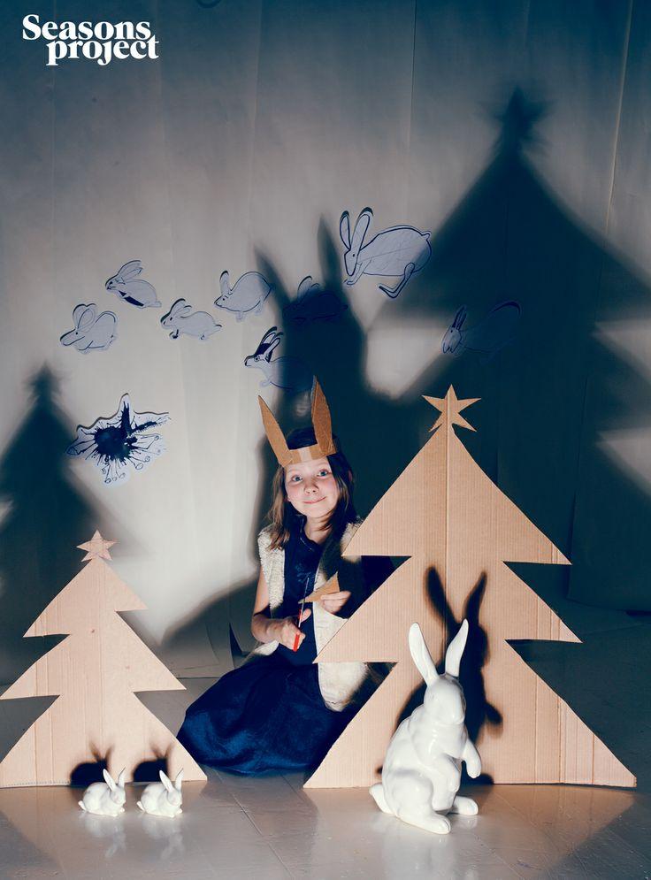 Seasons of life №12 / November-December 2012 issue. Christmas #seasonsproject #seasons #mood #decor #idea #girl #christmas #tree