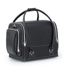 Red Black Travel Cosmetic Bag Box,Beautician for Cosmetics,Kosmetyczka Women Travel Makeup Storage Organizer,Pochette Maquillage